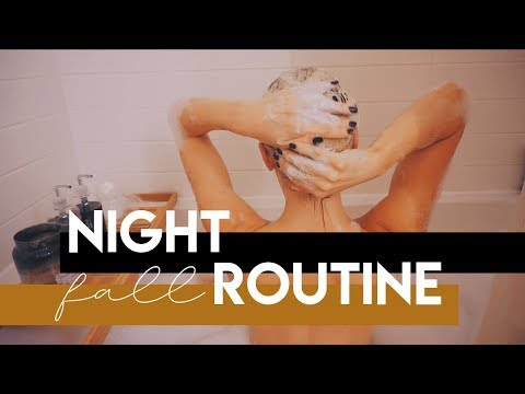 Fall Night Routine 2019