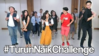 TURUN NAIK CHALLENGE Yudist Ardhana Ft Minyo33, Giovander Louis, and Friends.
