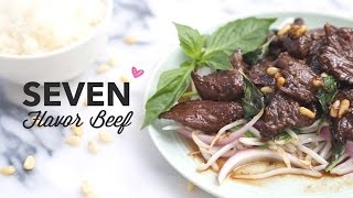 Seven Flavor Beef (with Pine Nuts!) | Asian Fusion Recipe