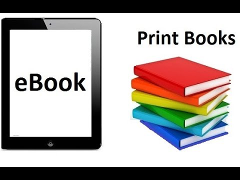 What Is The Difference Between An Ebook And Printed Book?