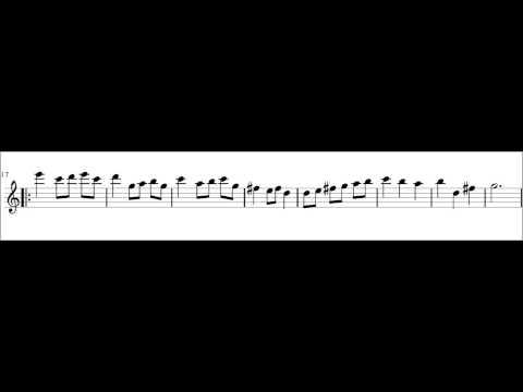 Bach Minuet Alto Recorder Practice