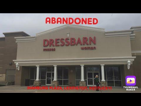 Abandoned Dressbarn (Hamburg Plaza, Lexington, Kentucky)