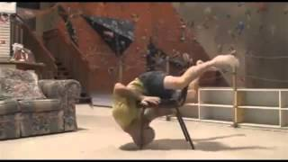 Слабо пролезть вокруг стула не касаясь пола?(Всем известно, как полезна гимнастика. Не зря на радио реанимировали программу времен: физкульт-зарядку...., 2015-01-20T07:49:37.000Z)