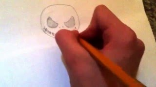 How to draw jack the pumpkin king!!!!