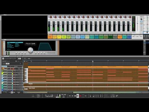 Music trailer for ProjectSAM Orchestral Sampler v1.2 Rack Extension for Reason