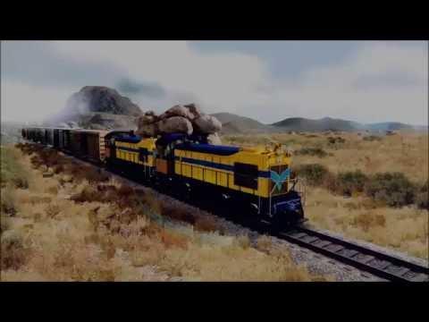 Train Simulator ALCO S6 VCR 9 ( Back to the Future ) ( BETA )