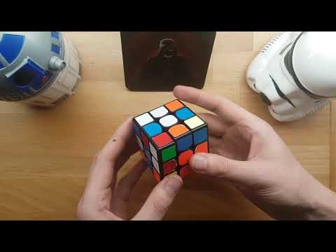 Imperial March played on a Rubik's Cube