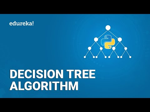 Decision Tree Algorithm | Decision Tree In Python | Machine Learning Algorithms | Edureka