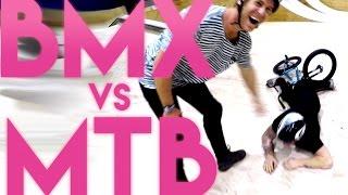 BMX vs MTB: The flair off