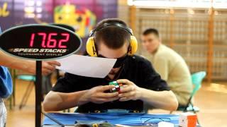 Repeat youtube video Marcin Kowalczyk Maskow BLD final 42 02 solve 1 Silesia Open 2012