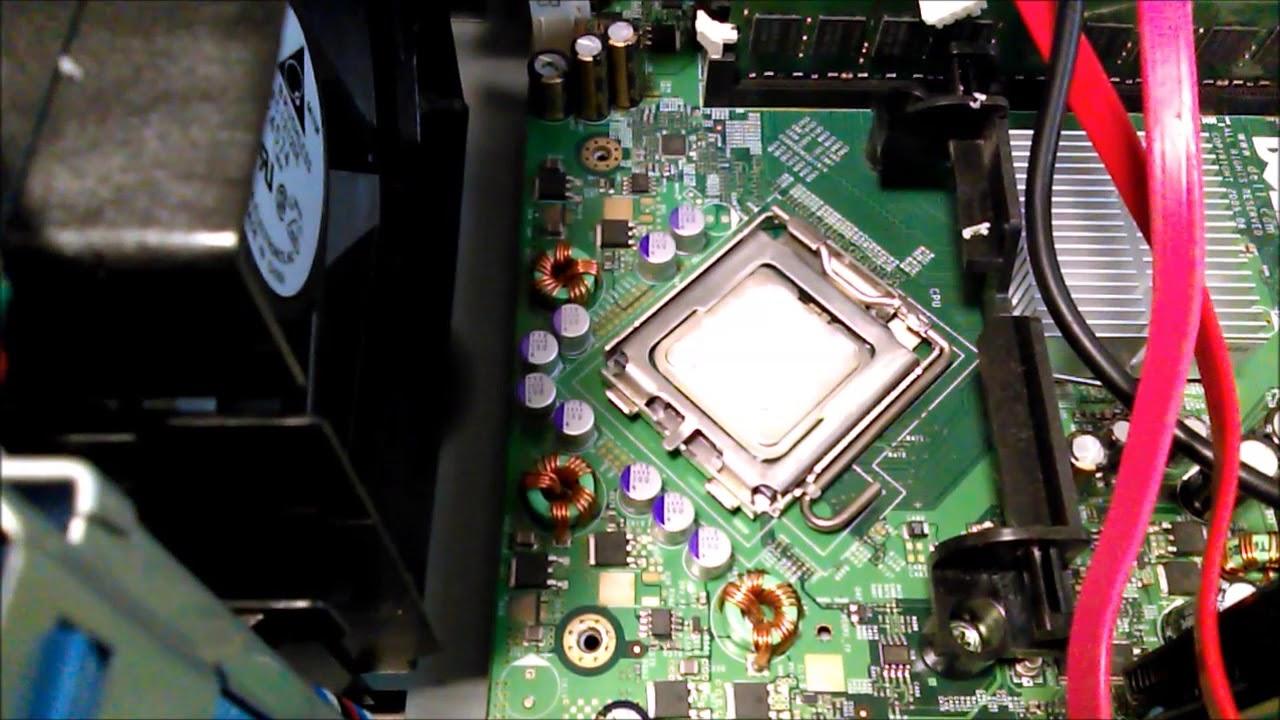 Dell Optiplex 745 gets a Core 2 Quad Q6600