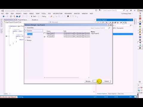 Dynamic Loading DLL Files in C# Project