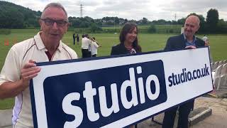 """Studio - """"It's nice to see big businesses supporting a small club"""""""