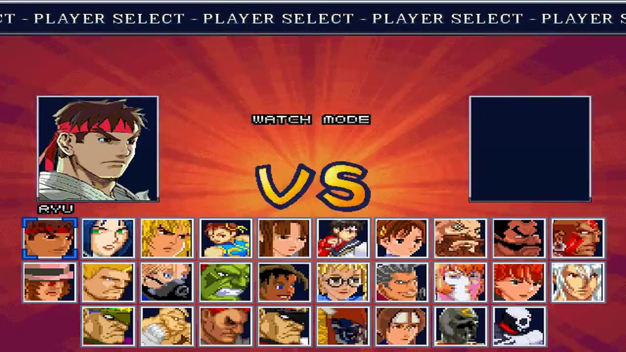 [MUGEN GAME] Street Fighter EX Hard Battle (ARIKA EX) 2 0 - REUPLOADED!