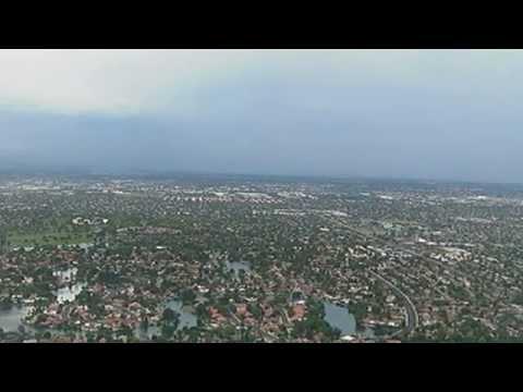 Tracking the storm: SkyFOX aerials over the Phoenix metro area