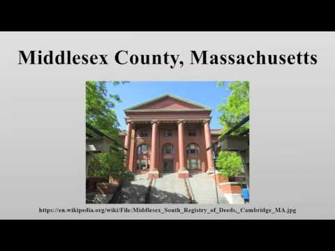 Middlesex County, Massachusetts
