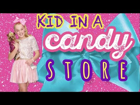 """Kid In A Candy Store"" Lyric video! JoJo Siwa"