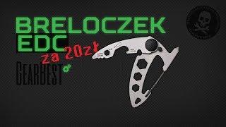 Breloczek EDC z GearBest !