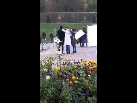 Aishwarya rai live shooting in vienna