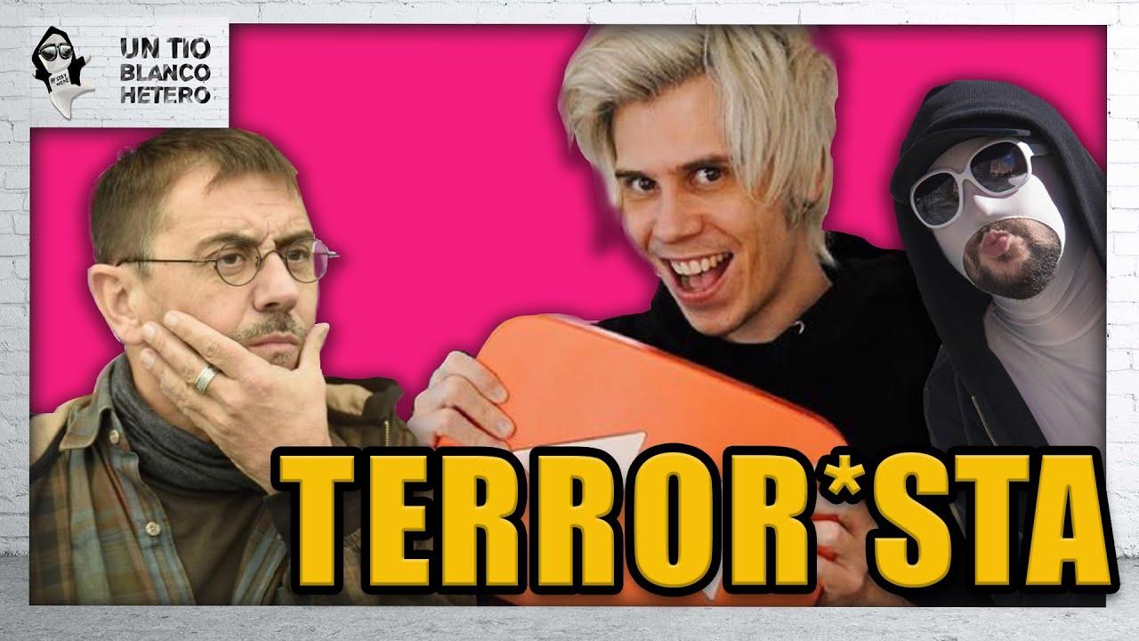 Juan Carlos Monedero equipara al Rubius con un TERROR*STA | UTBED