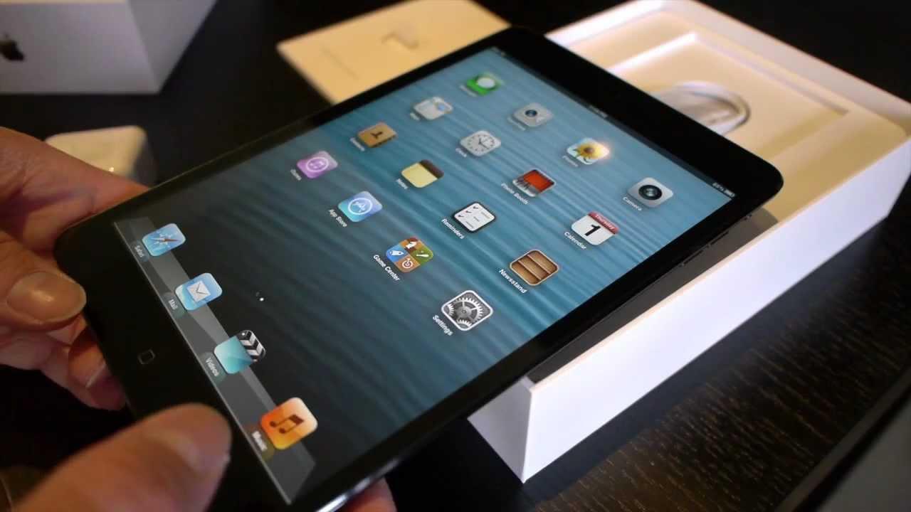 iPad Mini Black 64GB Unboxing [Bilsta57]