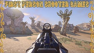 Top 10 First person shooter games for pc