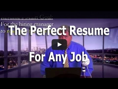 the perfect resume youtube