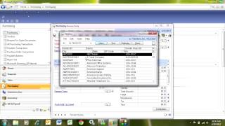 Matching Vendor Invoices in Dynamics GP