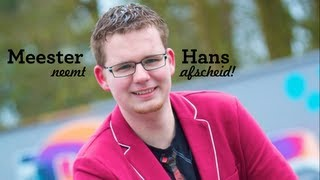 Afscheid meester Hans | CBS De Kloostertuin