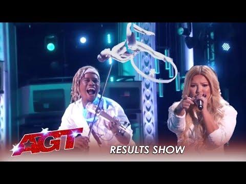 EPIC 'AGT' Stars Sofie Dossi, Brian King Joseph & Bianca Ryan Are Back!! | America's Got Talent 2019 image