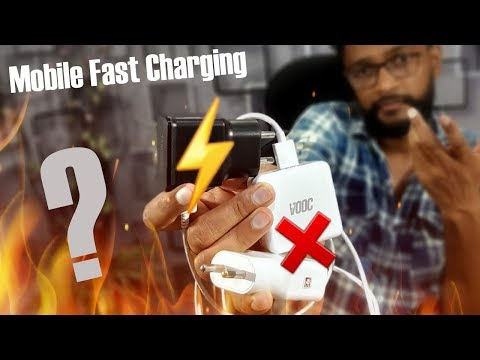 Fast Charger Is Safe Or NOT For Mobile And Battery Life ???