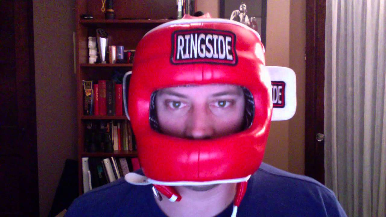 3914af3a4 Headgear Review boxing MMA Ringside face saver - YouTube