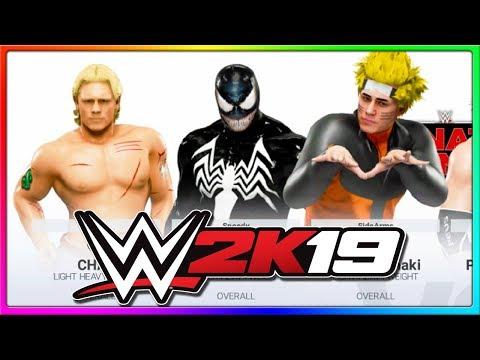 Naruto & Venom Crossover To Fight Evil | WWE 2K19 Gameplay Online