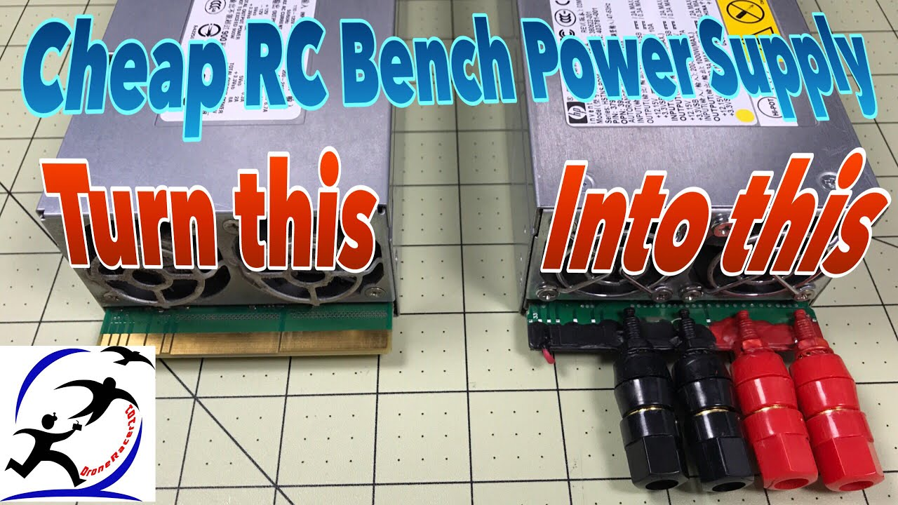 Turning An Hp Dps800gb Power Supply Into An Rc Bench Power