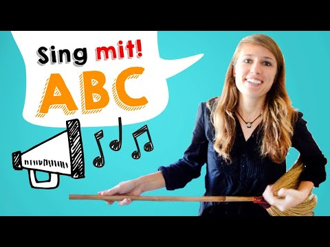 GERMAN PRONUNCIATION 2: Learn the GERMAN ABC SONG and SING WITH ME! (PARODY) 🎵🎵🎵