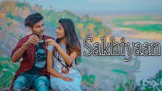Sakhiyaan | Cute Love Story | Romantic Song 2019 | Danish Zehen | Jeet | Besharam Boyz |