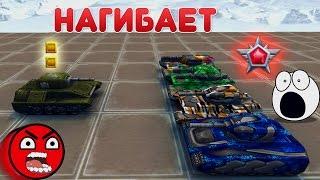 ТАНКИ ОНЛАЙН   УОРЕНТ НАГИБАЕТ ЛЕГЕНД!