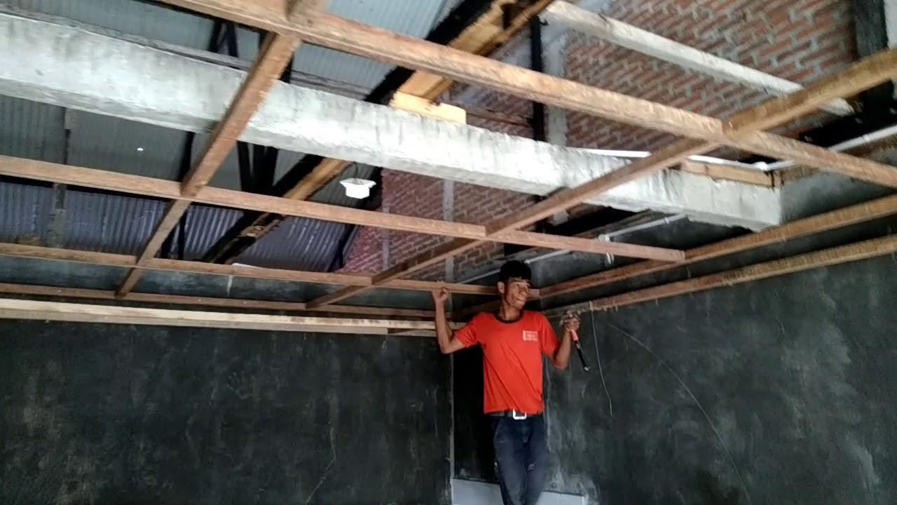 Cara Membuat Rangka Plafon Drop Ceiling www