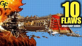 10 Flaws IMPERIAL NAVY Warhammer 40K | BEST SPACE NAVY SERIES