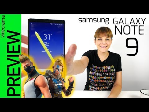 Samsung Galaxy Note 9 preview -con FORTNITE exclusivo-