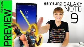 Samsung Galaxy Note 9 preview -con FORTNITE exclusivo-