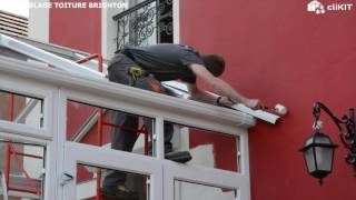 Comment Installer Une Toiture De Veranda En Kit Clikit Montage Toiture Veranda Brighton Youtube