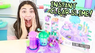 THIS MACHINE MAKES INSTANT CLEAR SLIME! ~ Slimeatory #452