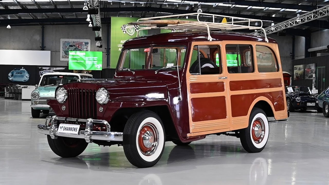 1948 Willys Jeep Overland Station Wagon (LHD) - 2019 Shannons Melbourne Winter Classic Auction