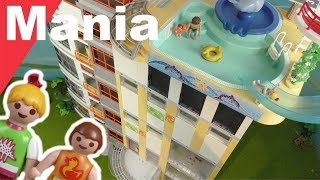 Playmobil Familie Hauser - Hochhaus mit Pool - PLAYMOMANIA - Film deutsch
