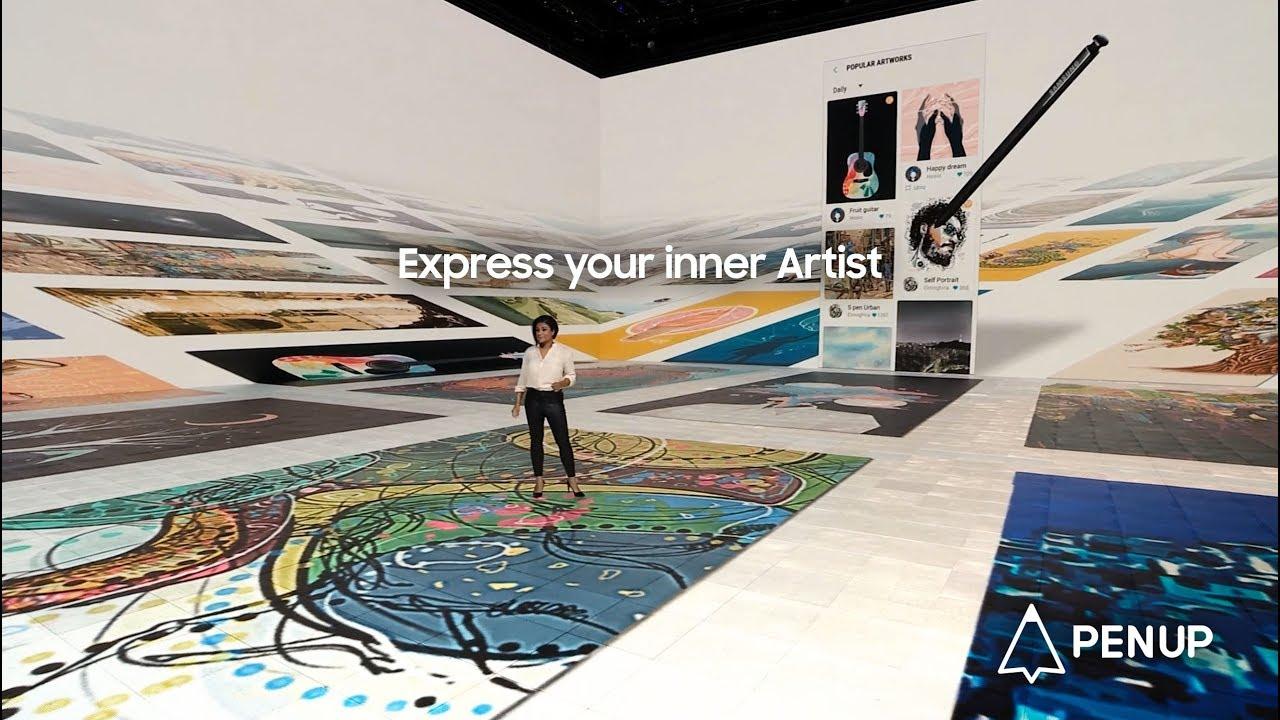 Express Your Inner Artist | PENUP | Samsung SmartLife