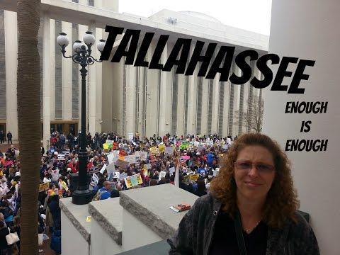 Visiting Tallahassee Florida - Teachers Rally