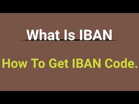 What Is An International Account IBAN Number Hindi/Urdu