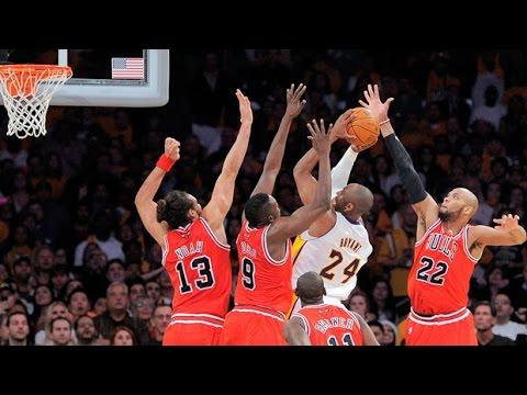 小飛俠Kobe Bryant中距離跳投合輯 低位腳步+假動作=百發百中!