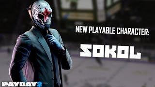 {Payday 2} Sokol Character Pack: Weapons & Voice lines